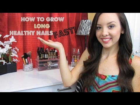 How To Get Long & Healthy Nails Fast!