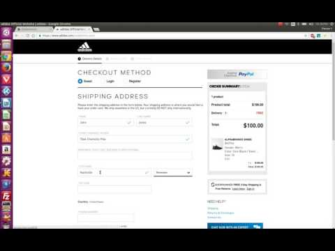 Using Autofill to expedite the Checkout Process using All in 1 Sneaker Bot
