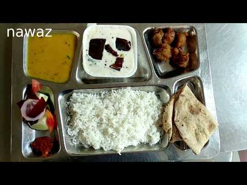 Hostel Mess Food Quality, IIT Guwahati | Lunch Menu from Monday to Sunday