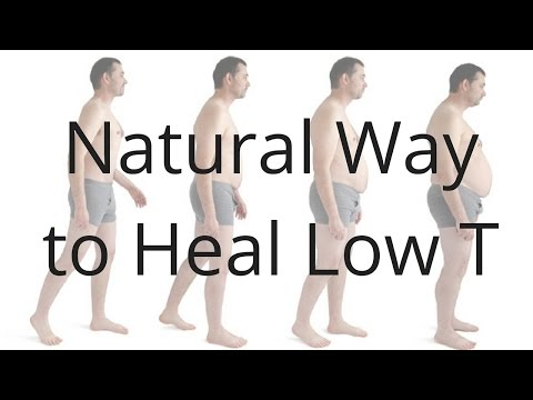 Natural Way to Raise Low Testosterone