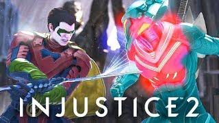 INJUSTICE 2 - Black Manta HATES robin! Roast Dialogues!