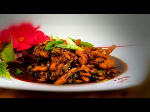 Chinese Hoisin Chicken Stir-Fry (Chinese Style Cooking Recipe)