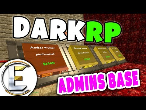 DarkRP Admins Base - GMOD (Serious Roleplay)
