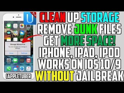 How To Clean Up Space and Remove Junk Files on iOS 10 - 10.3.3 / 9 (NO Jailbreak) + Huge Giveaway!