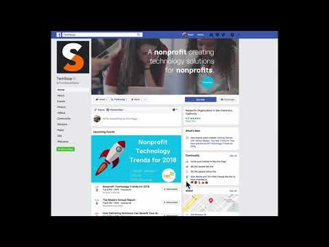 Crossposting your Facebook Events to the NetSquared and TechSoup Pages on Facebook
