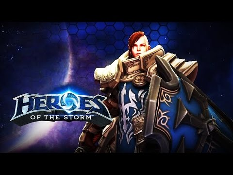 ♥ Heroes of the Storm (Gameplay) - Johanna, The Tankiest Tank (HoTs Quick Match)