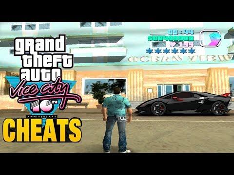 gta vice city cars and bikes cheats