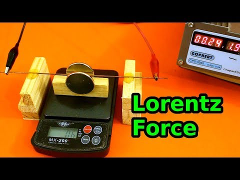 Lorenz Force Experiment