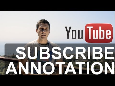 Subscribe Annotation Tutorial (how to)