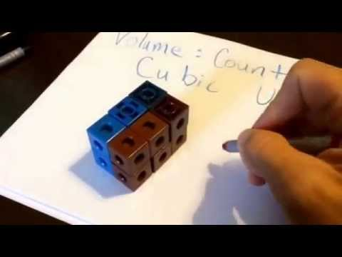 Counting Cubes-volume