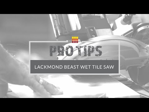 Tile Saw Tips - Learn About Wet Saws at The Tile Shop