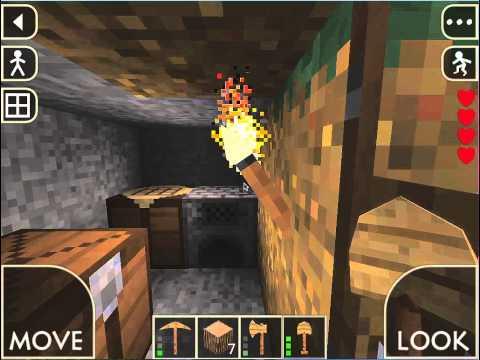 SurvivalCraft Beginner Tutorial: Basic Shelter