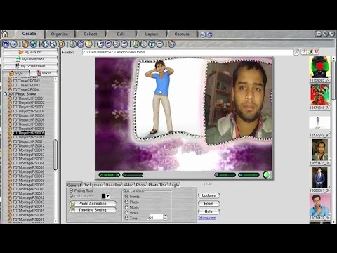 How To Make A Photo To Professional Video Use  3D Album Commercial Suite