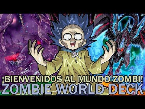 ¡BIENVENIDOS AL MUNDO ZOMBI! Zombie World Deck | Yu-Gi-Oh! Duel Links