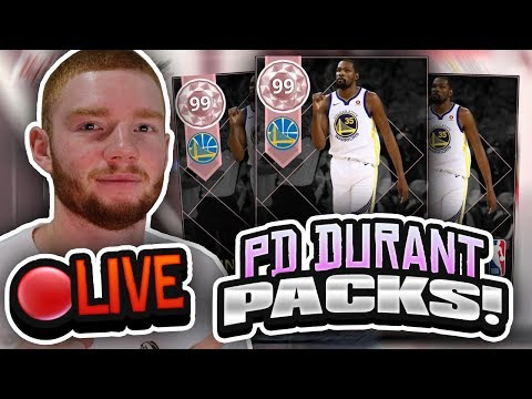 *LIVE* PINK DIAMOND DURANT HUGE PACK OPENING! PLAYOFF MOMENTS PACKS (NBA 2K18 MYTEAM)