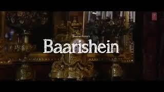 Baarishein Atif Aslam ft Nushrat Bharucha HD video song 2019 Latest Punjabi song 2019 Baarishein Ati
