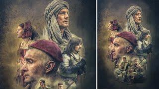 Advance Photoshop Manipulation | Movie Poster Texture Effects Part1