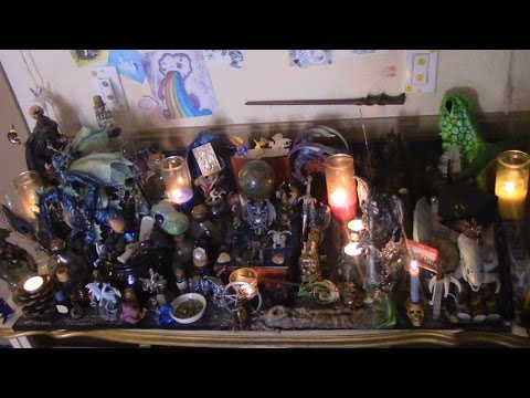 How To Create A Draconic Altar | The Draconic Path / Draconic Wicca