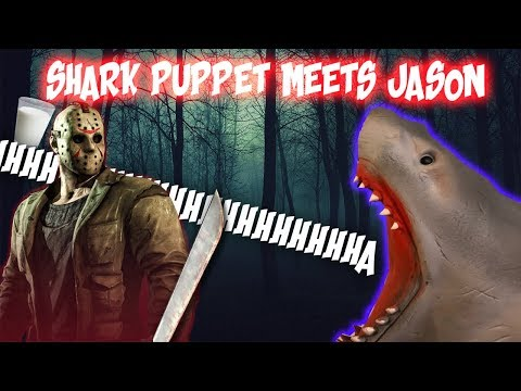 SHARK PUPPET FRIDAY THE 1 3th