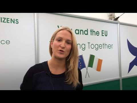 Minister of State McEntee at the National Ploughing Championships 2017