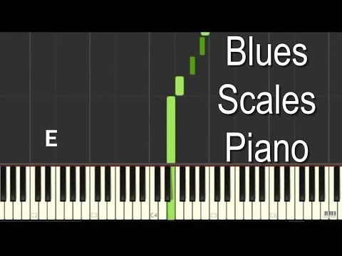 Blues Scales Piano Tutorial - Learn the basics for Blues & Jazz Piano