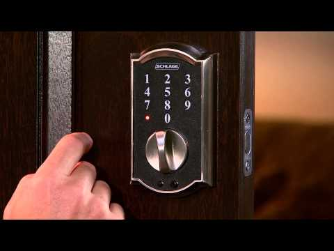 Schlage Touch Programing Guide - FRENCH