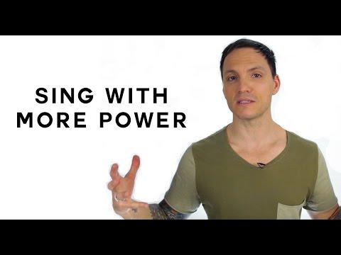 Sing With More Power