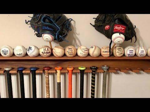 How to Make a Baseball Bat Display Rack (Step-by-Step)