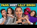 Generations React To And MEET Lilly Singh