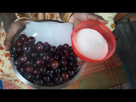 How to Prepare Grape Juice at Home