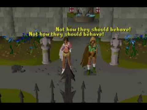 Runescape - I kissed a girl