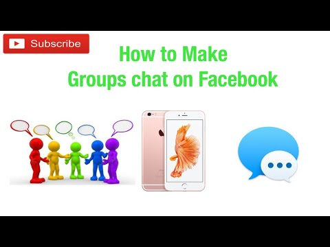 How To Make Group Chat on Facebook.
