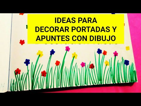 Márgenes Para Cuadernos Ideas Para Decorar Portadas Y Apuntes Con