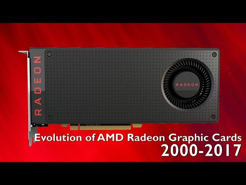 Evolution of AMD Radeon 2000-2017