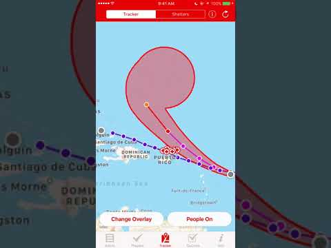 HURRICANE by The Red Cross +Find Shelter/ Track Hurricanes