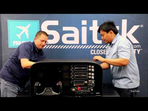 Saitek Pro Flight Simulator Cockpit build