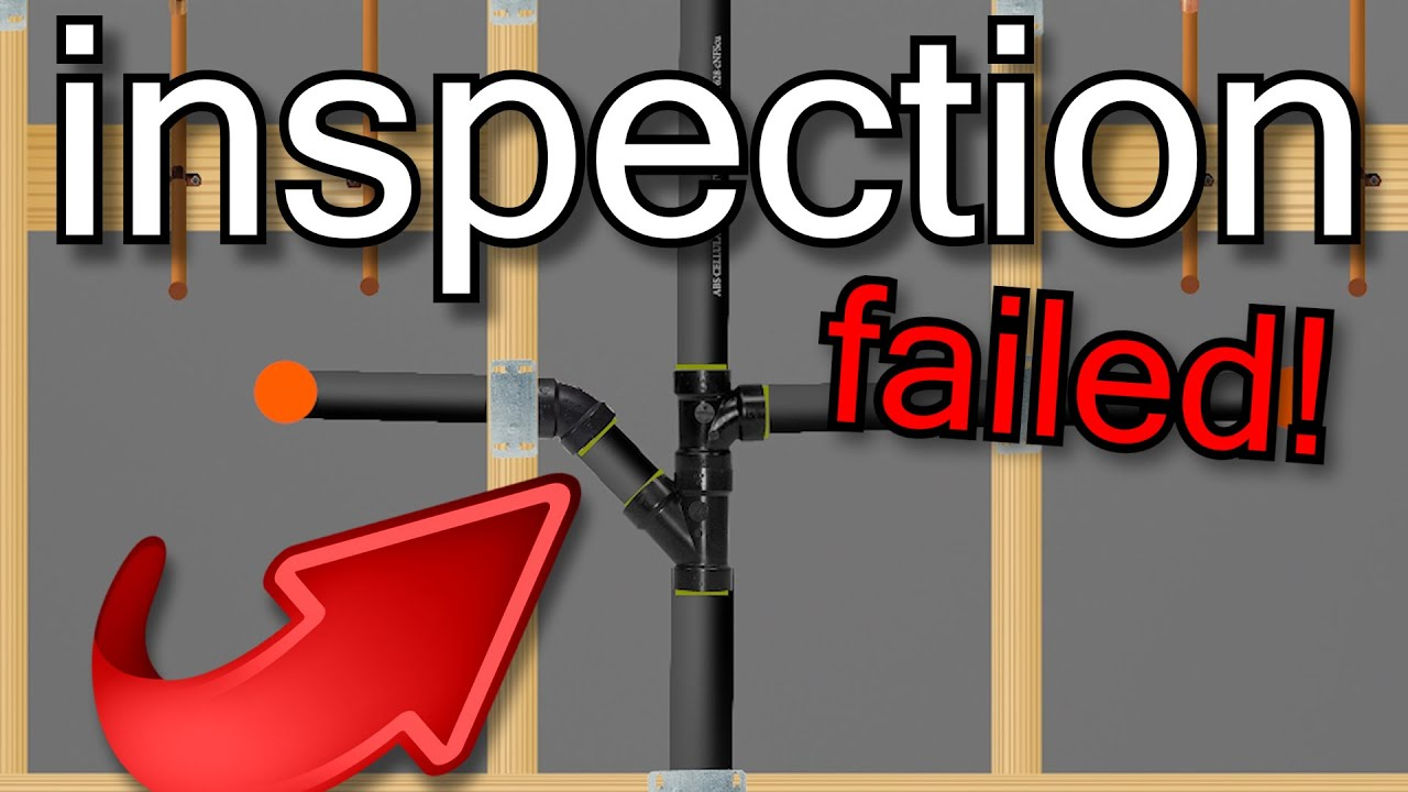 10 Reasons Why You'd FAIL a Plumbing Inspection! | GOT2LEARN