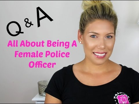 Q&A All About Being A Female Police Officer⎢Leslie Ann-The Beauty Cop