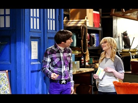 The TARDIS on The Big Bang Theory | Doctor Who