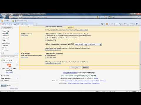 How to setup Windows Live Mail to work with Gmail