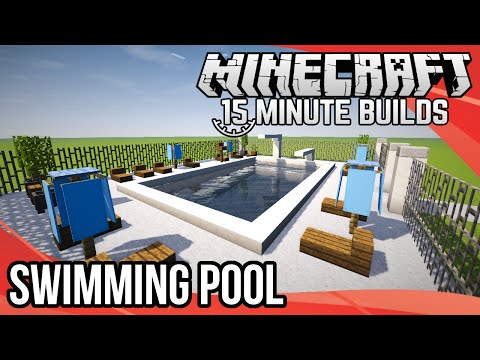 Minecraft 15-Minute Builds:  Swimming Pool