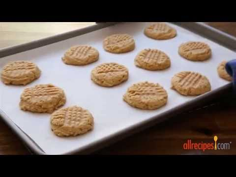 How to Make Three Ingredient Peanut Butter Cookies | Cookie Recipes | AllRecipes