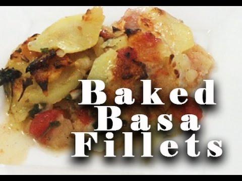 DELICIOUS Baked Basa Fish Fillets | Super Healthy!