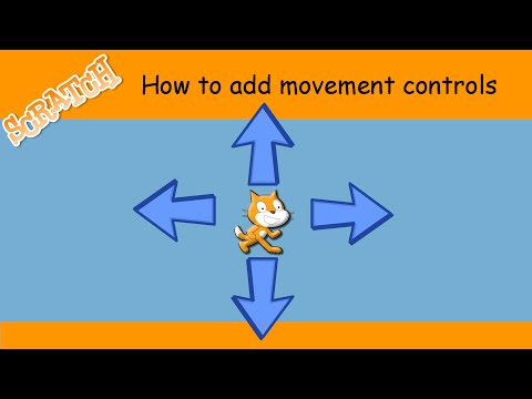 How to make a sprite move around in Scratch
