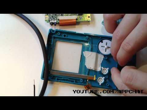 Front Light Gameboy Color Mod TUTORIAL