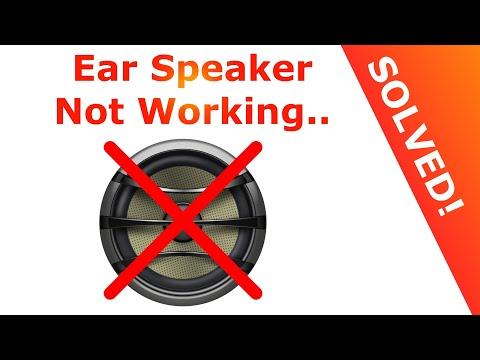 iPhone Ear Speaker Not Working (solved!) – Easy Solution