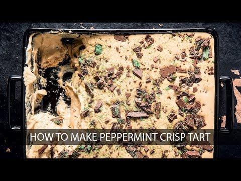 How to make easy Peppermint Crisp Tart | Woolworths TASTE