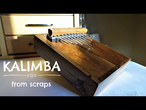 KALIMBA -- FIRST TRY! (you should totally use ear phones)