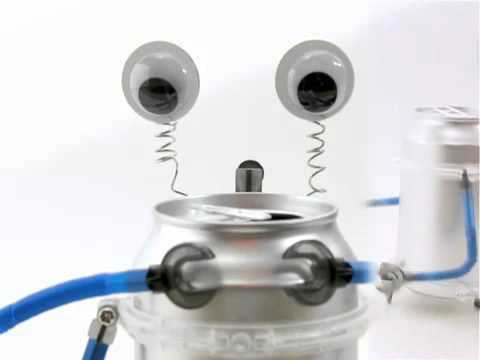 Tin Can Robot Kit by Toysmith 4M