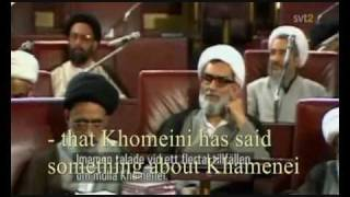 Rafsanjani chose supreme leader in 1989 (with subtitles)